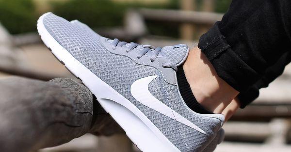 nike tanjun zapatillas - hombre - gris