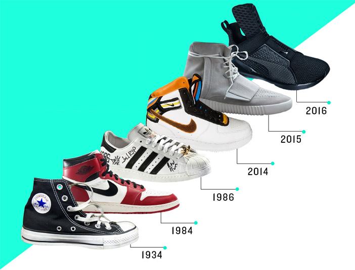 Principal historia de las Sneakers