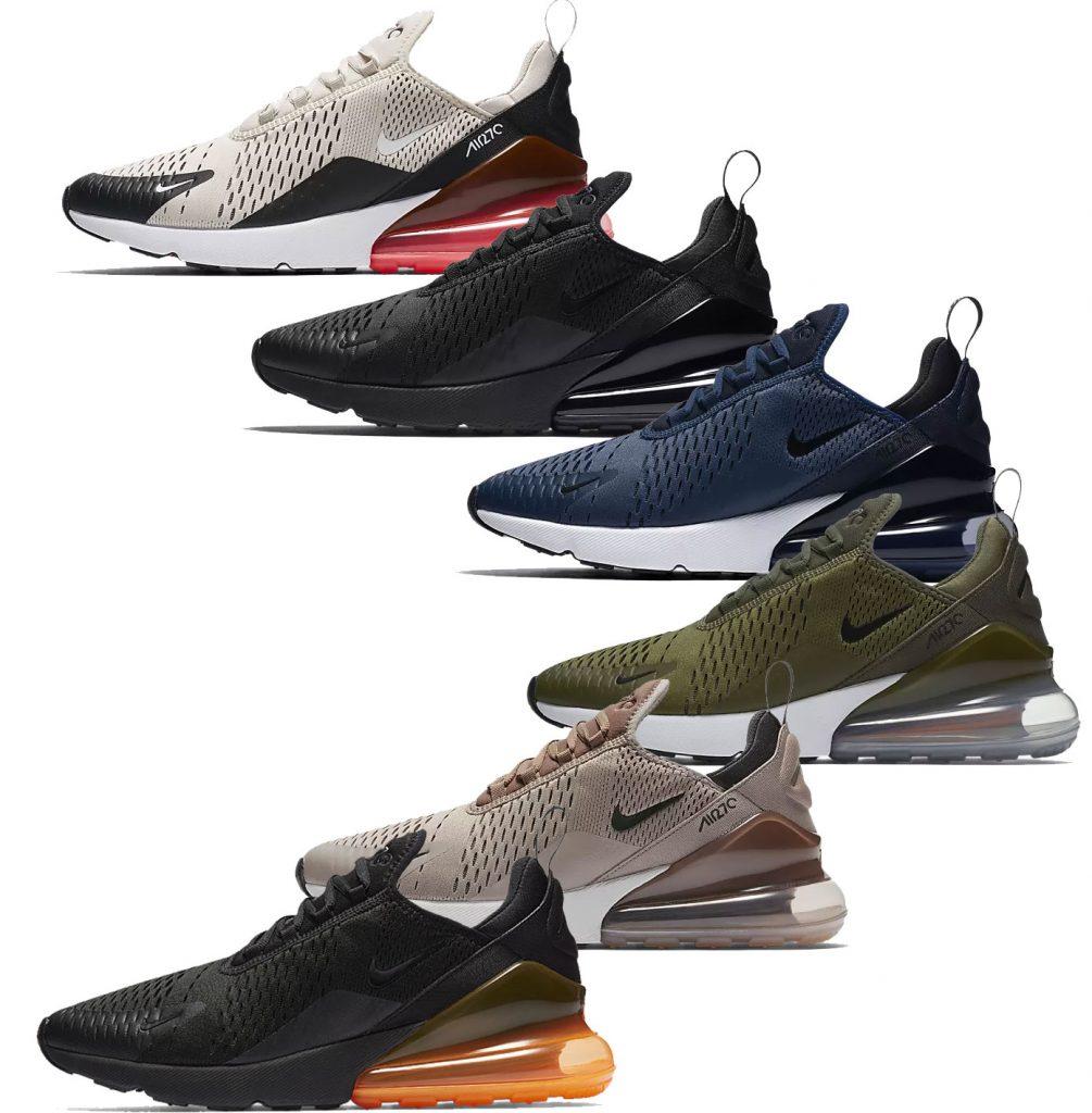Nike Air Max 270 colores