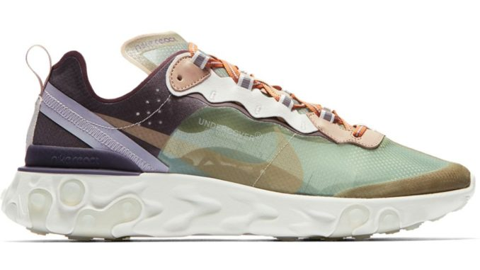 Nike React Element 87 Green Mist