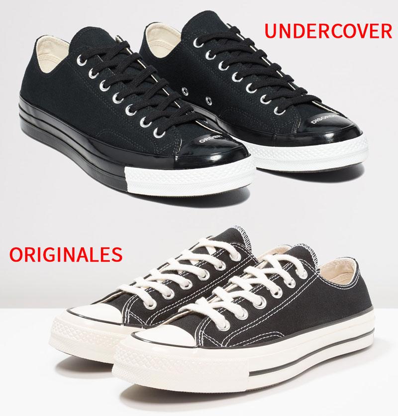 Diferencias Converse Chuck 70 originales con Undercover