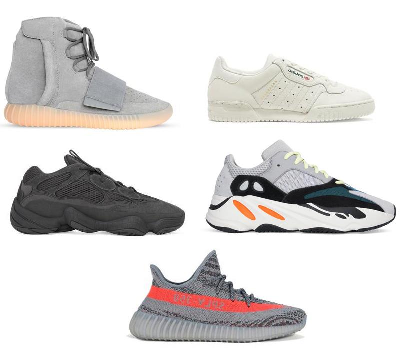 Todas las Adidas Yeezy
