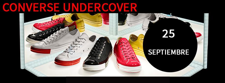 Fecha lanzamiento Converse Undercover