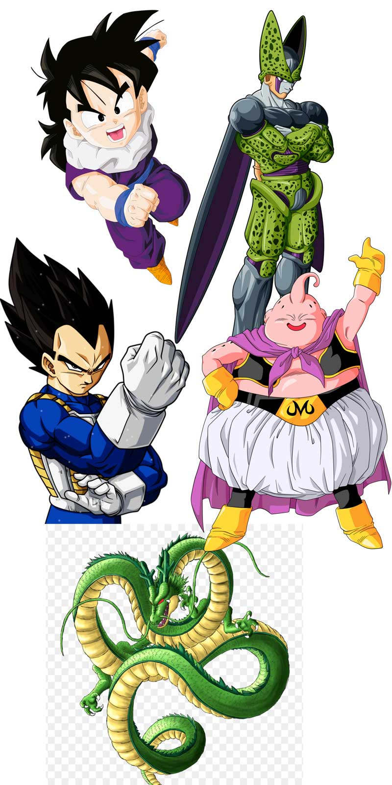 Personajes Dragon Ball z
