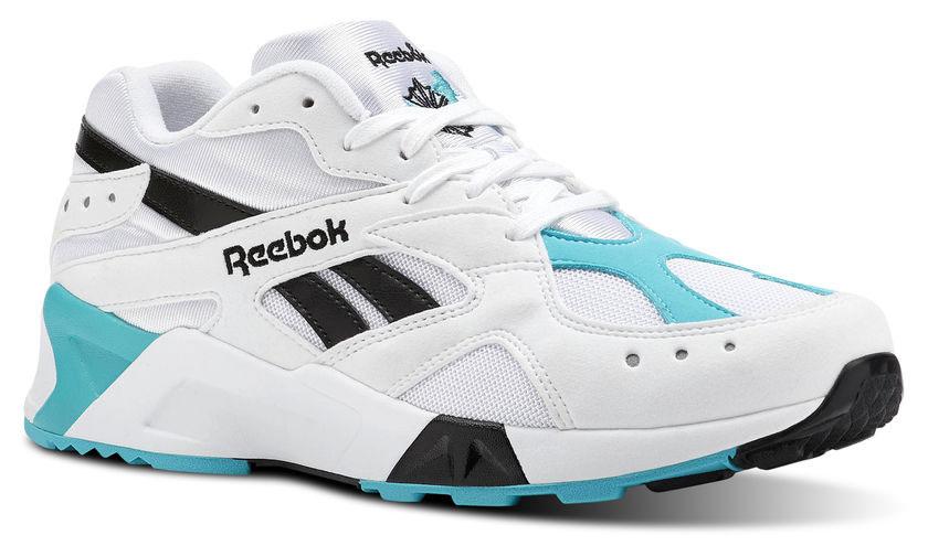 Reebok Aztrek Blanco negro y azul