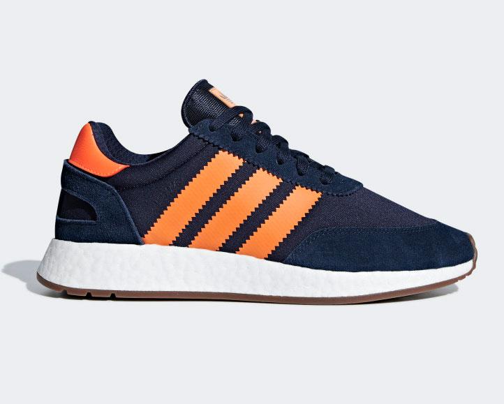Adidas I-5923 Azul marino y naranja