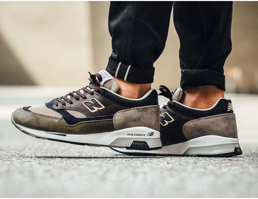New Balance 1500 puestas on feet
