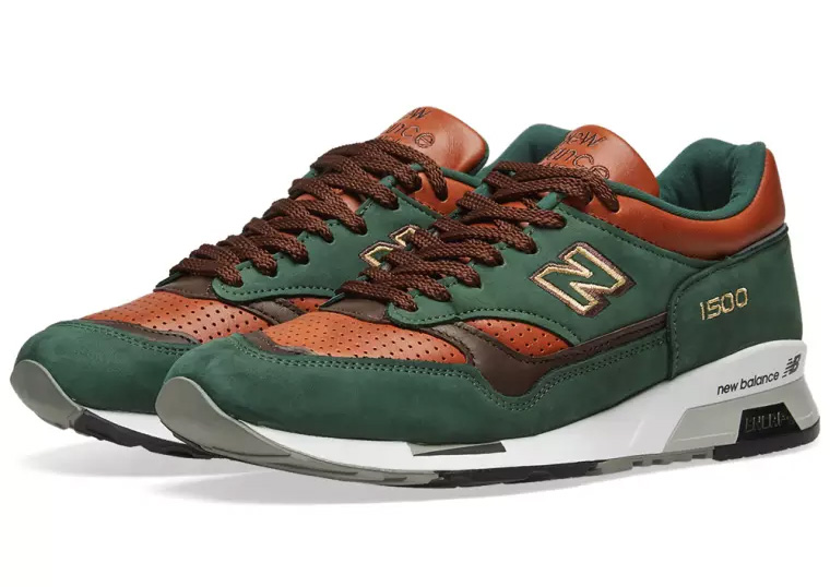 New Balance 1500 Dark Green Tan