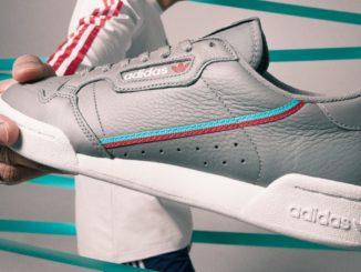 Foto portada de las Adidas Continental 80 Gris