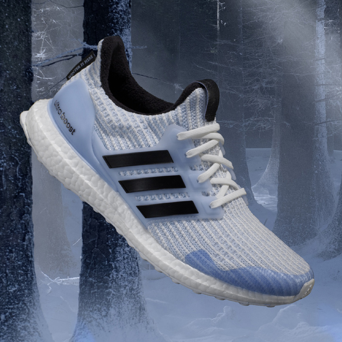 ULTRABOOST ADIDAS RUNNING X GAME OF THRONES WHITE WALKER.