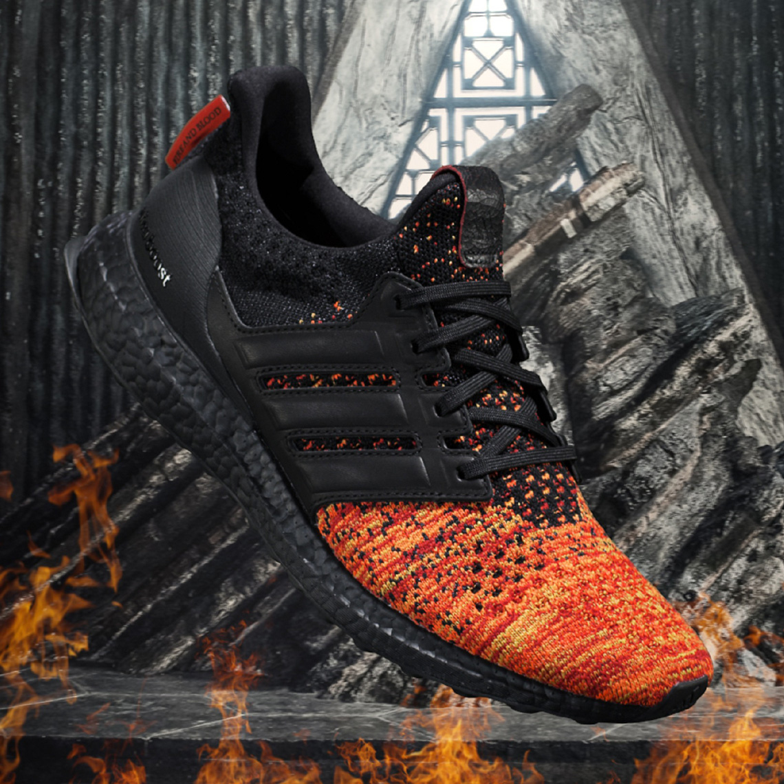 ULTRABOOST ADIDAS RUNNING X GAME OF THRONES TARGARYEN.