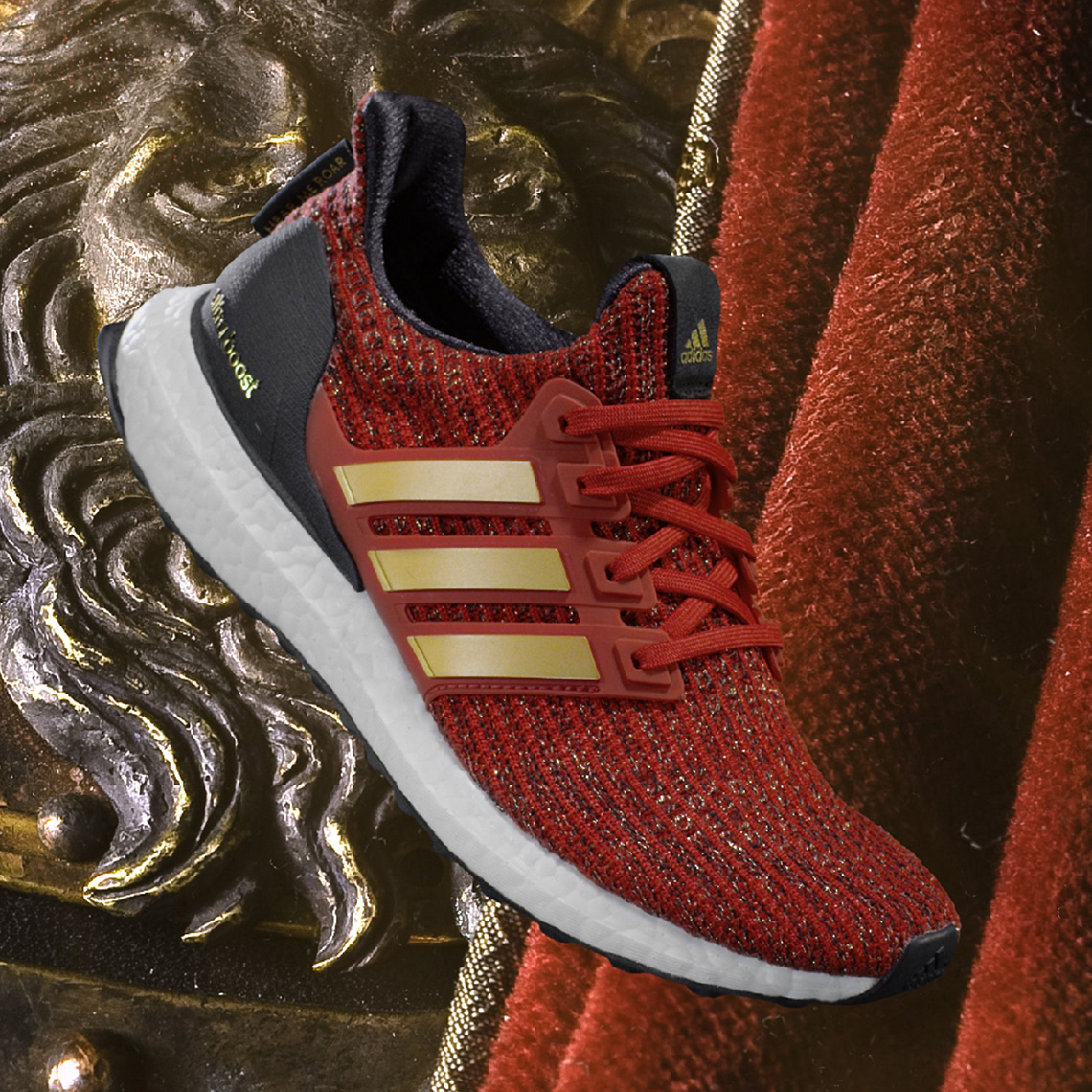 ULTRABOOST ADIDAS RUNNING X GAME OF THRONES LANNISTER.