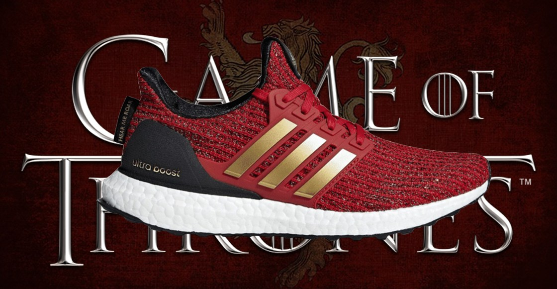 Adidas Ultra Boost 4.0 Games of Thrones Lannister House