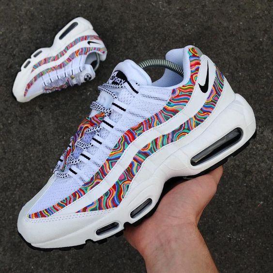 zapatillas nike air max 95 mujer de colores