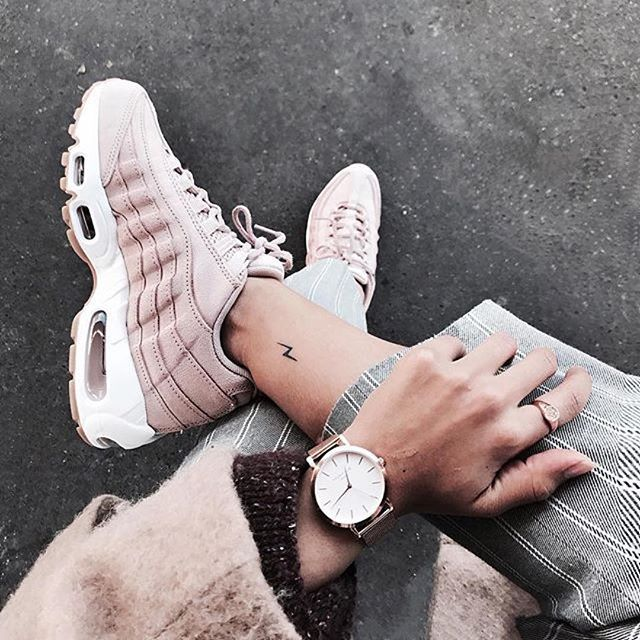 nike air max 95 color rosa claro