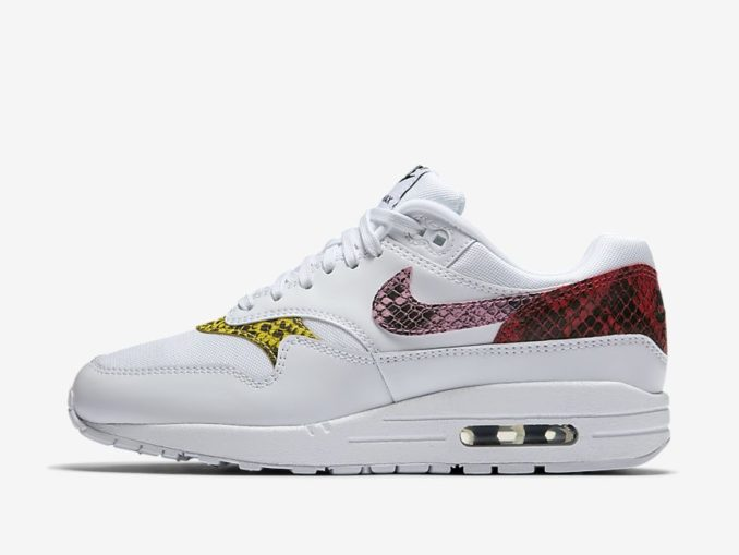 Zapatilla Air Max 1 Premium Animal modelo blanco