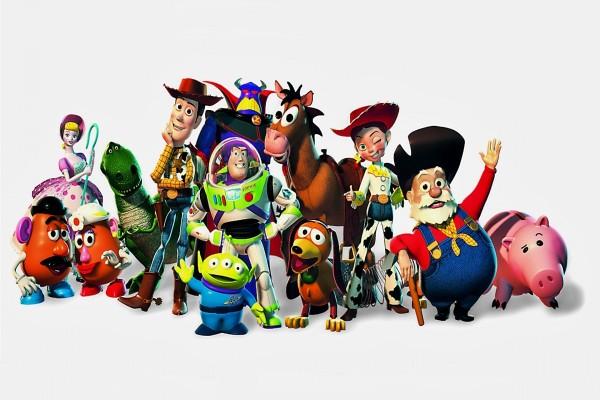 Los personajes de Toy Story