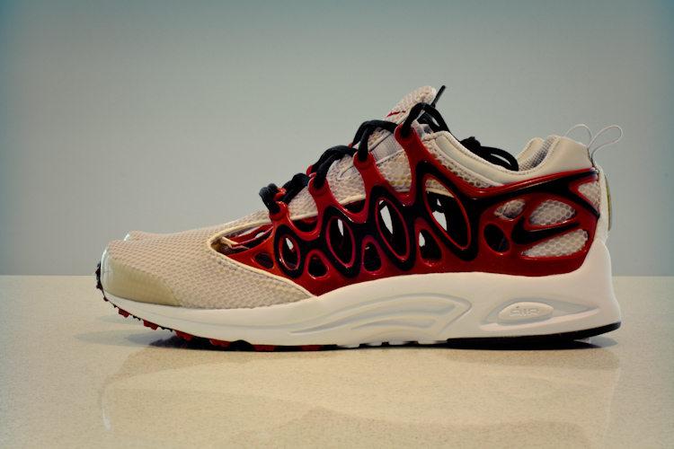 Zapatilla Air Chapuka perteneciente a la Nike ALPHA Project