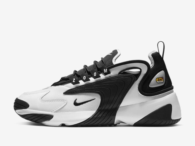 Zapatilla Nike Zoom 2K modelo Blanco/Negro. Referencia: AO0269-101