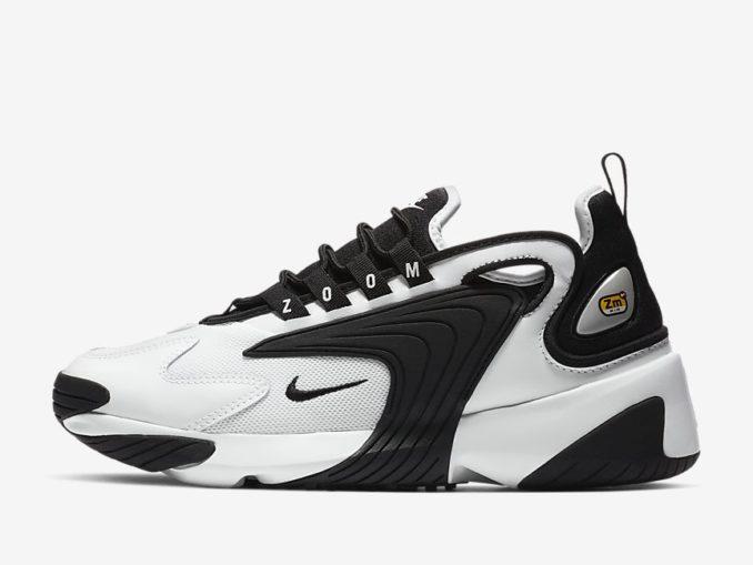 Zapatillas Nike Zoom 2K modelo blanco/negro referencia: AO0354-100
