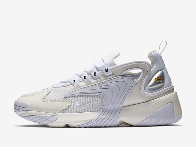 Zapatilla Nike Zoom 2K modelo Vela/Negro/Blanco. Referencia: AO0269-100